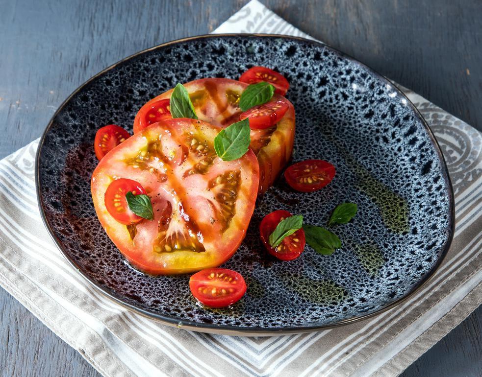 Fresca y ligera ensalada de tomate (AGENCIA REFORMA)