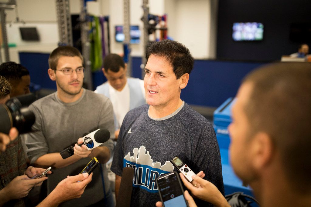 Dallas Mavericks owner Mark Cuban will attend the third presidential debate at the University of Nevada in Las Vegas.