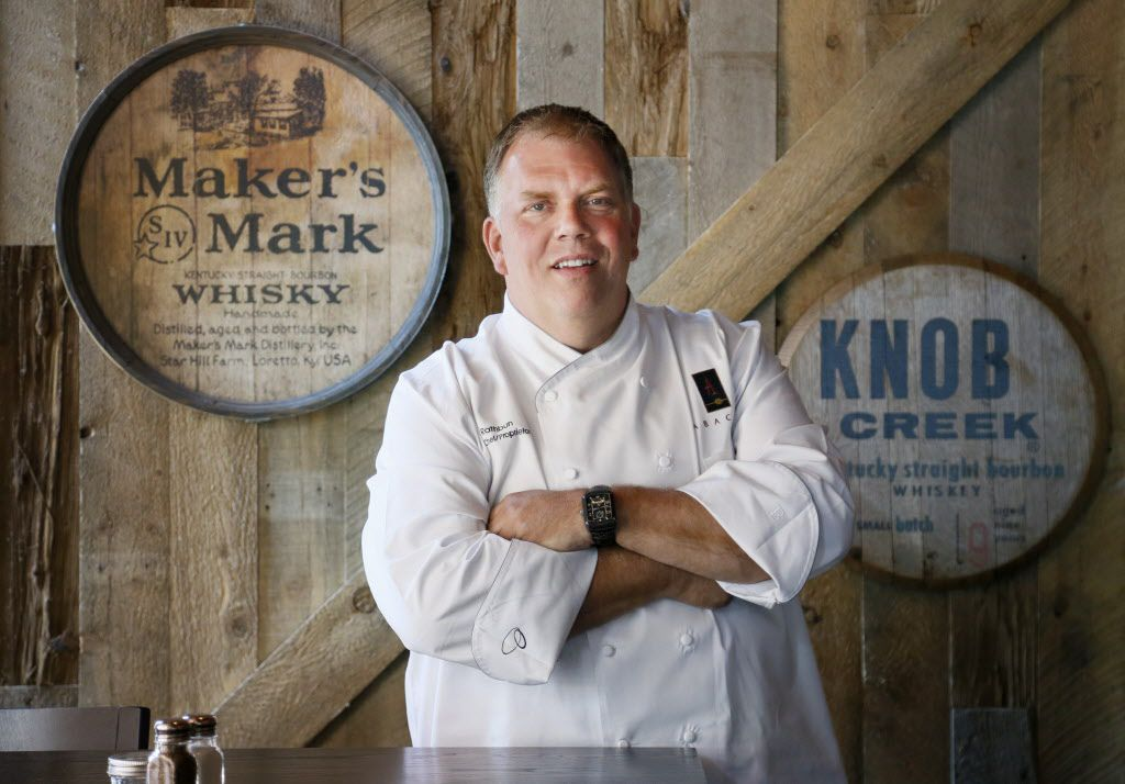 Kent Rathbun, executive chef/partner, is photographed at his new restaurant, Hickory by Kent Rathbun in Plano, TX on Thursday, June 4, 2015.