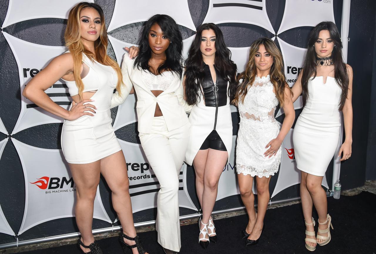"""Tres latinas son parte de Fifth Harmony. El grupo fue conformado en el reality """"X Factor"""". (AP/ROB LATOUR)"""