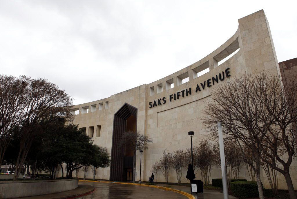 The Saks Fifth Avenue at The Galleria in Dallas is now a Belk store.