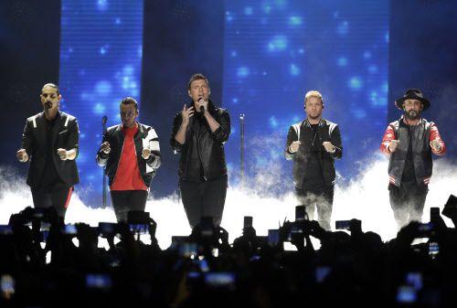 Backstreet Boys.(AP Photo/Mark Humphrey, File)
