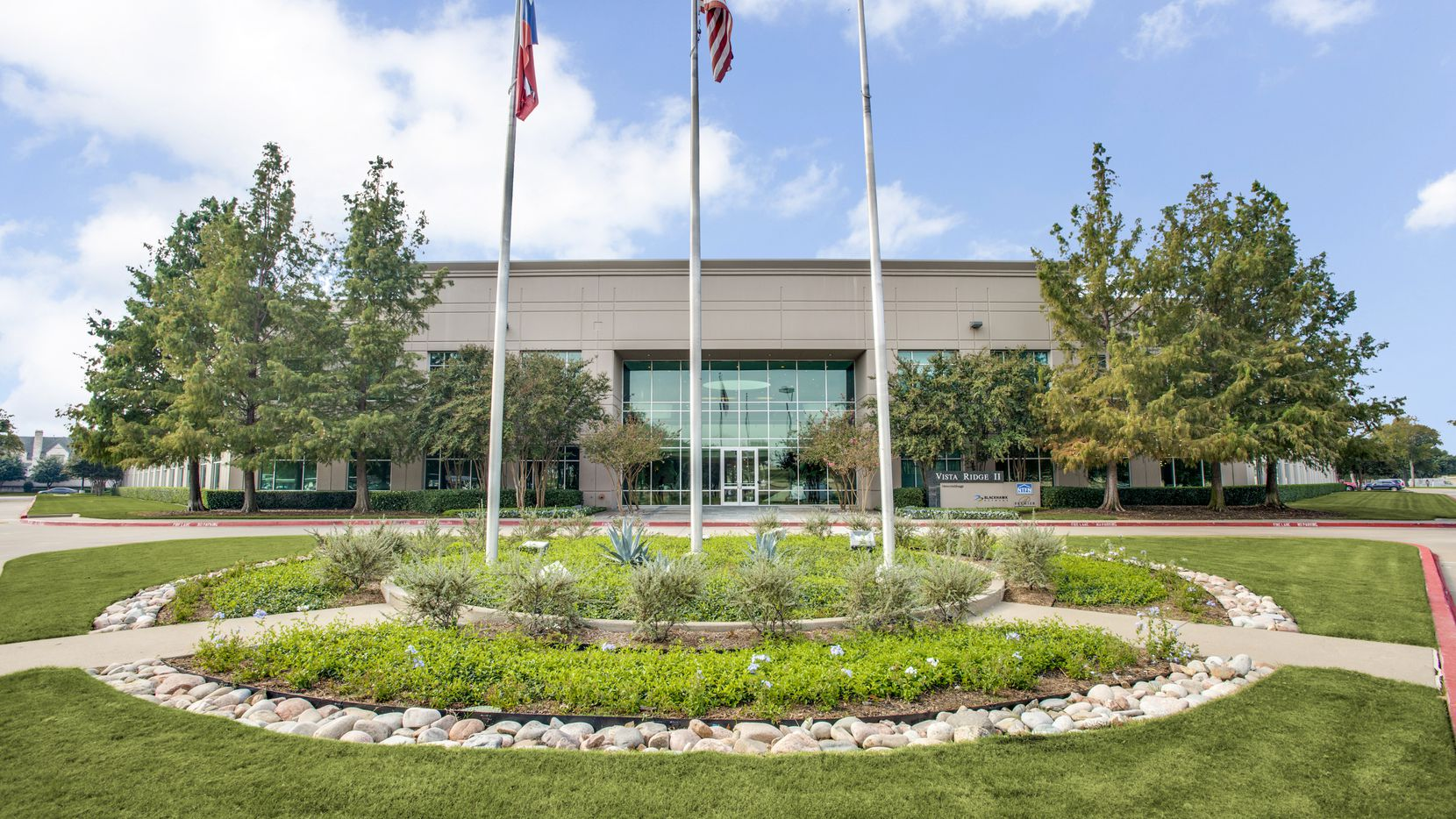 The Lake Vista Office campus has four buildings in Lewisville.