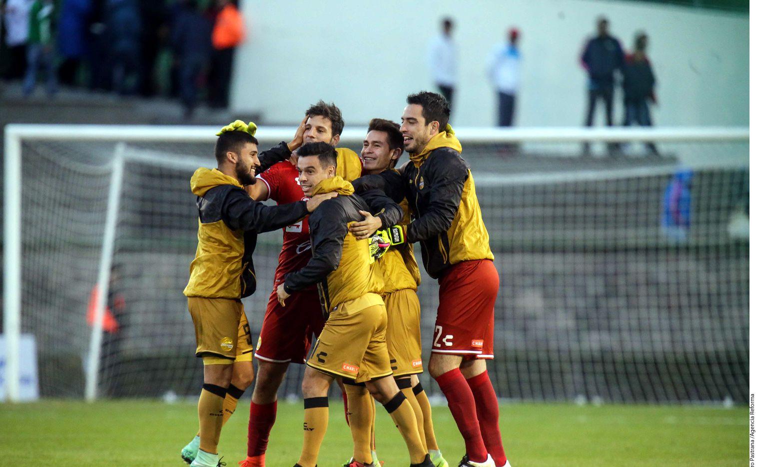 Dorados de Sinaloa venció 3-2 al Atlante, en el primer capítulo de la Final en el Ascenso MX. Foto AGENCIA REFORMA