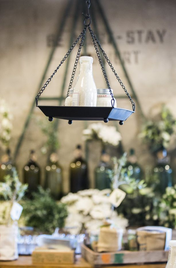 Items on display inside the new location of Magnolia Market at the Silos, owned by Chip and Joanna Gaines, hosts of HGTV's Fixer Upper, on Thursday, October 29, 2015 at Magnolia Market at the Silos in Waco, Texas.   (Ashley Landis/The Dallas Morning News)
