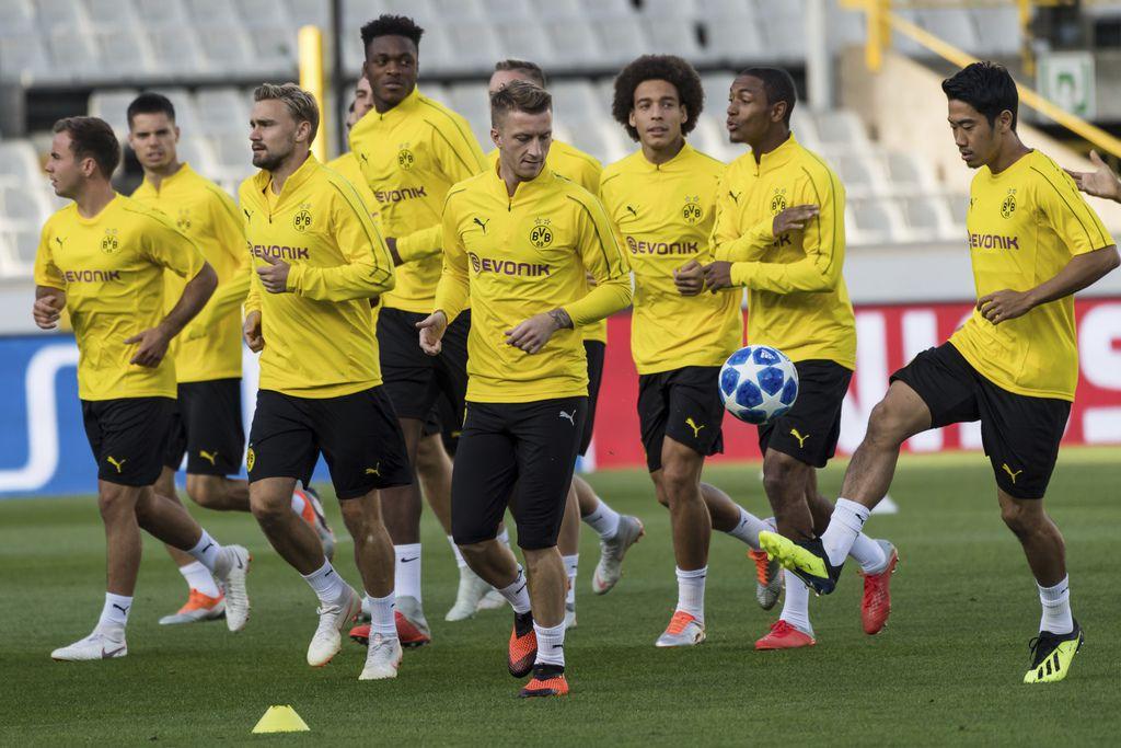 El Borussia Dortmund juegan en el Grupo A. (AP Photo/Geert Vanden Wijngaert)