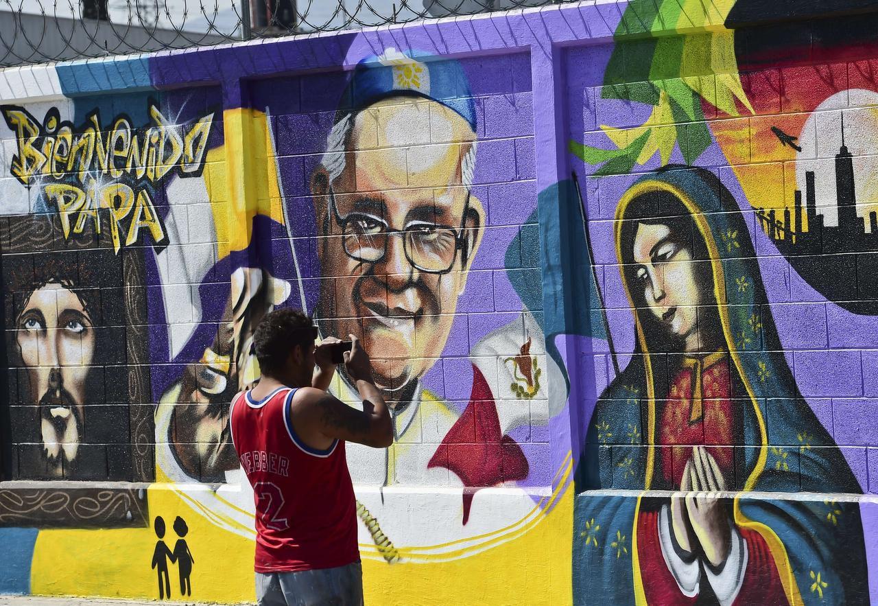 Ecatepec se apresta a recibir al Papa. GETTY IMAGES
