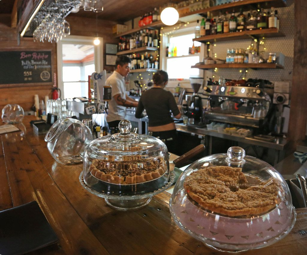 Delicious homemade baked treats are available at the Wild Detectives independent bookstore and bar, near the Bishop Arts stop for the Oak Cliff streetcar, photographed on Thursday, April 13, 2017. (Louis DeLuca/The Dallas Morning News)