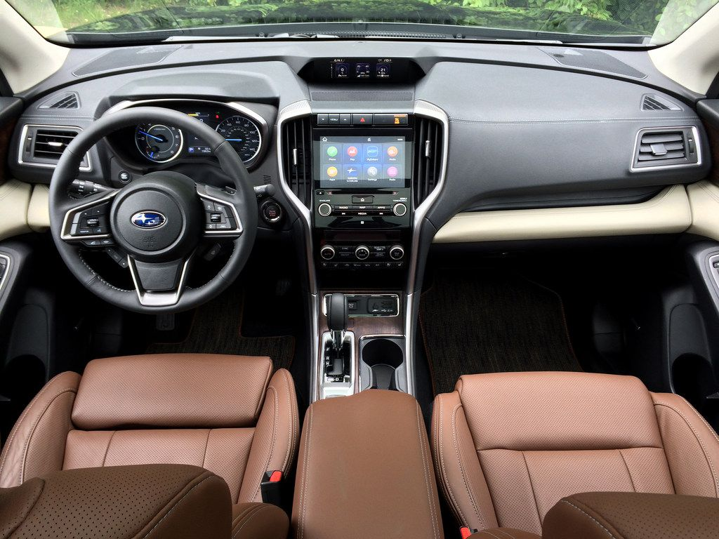 The Ascent in top of the line Touring trim  has seats in Java brown leather with heated everything.