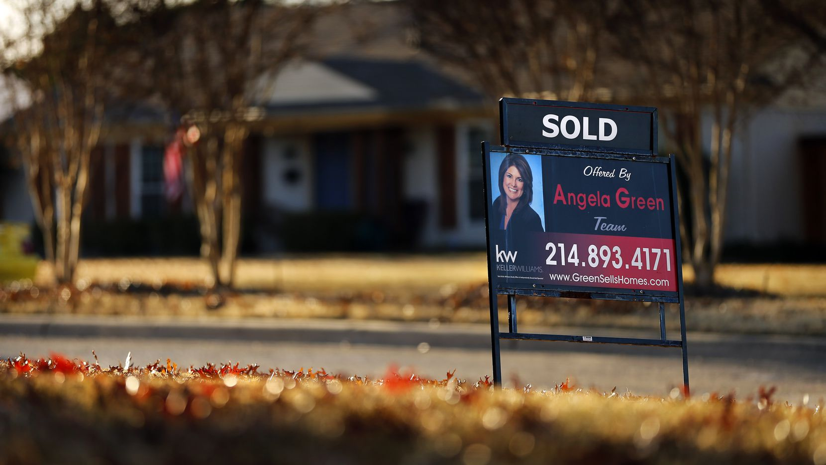 Real estate agents sold more houses than ever before for the month of February.