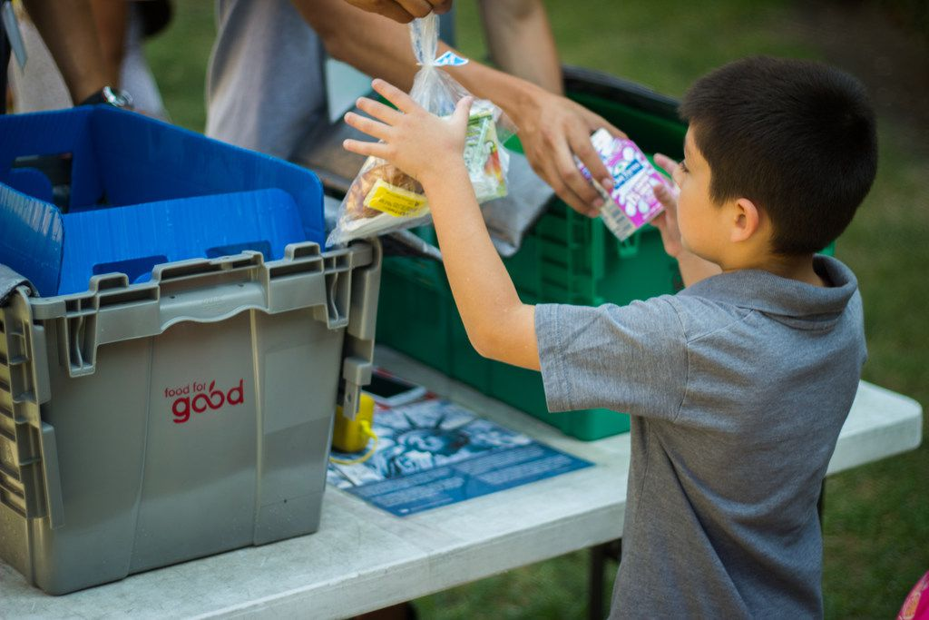Through PepsiCo s Food for Good, more than 1.2 million meals have been provided to people in need in Dallas in 2018 alone.
