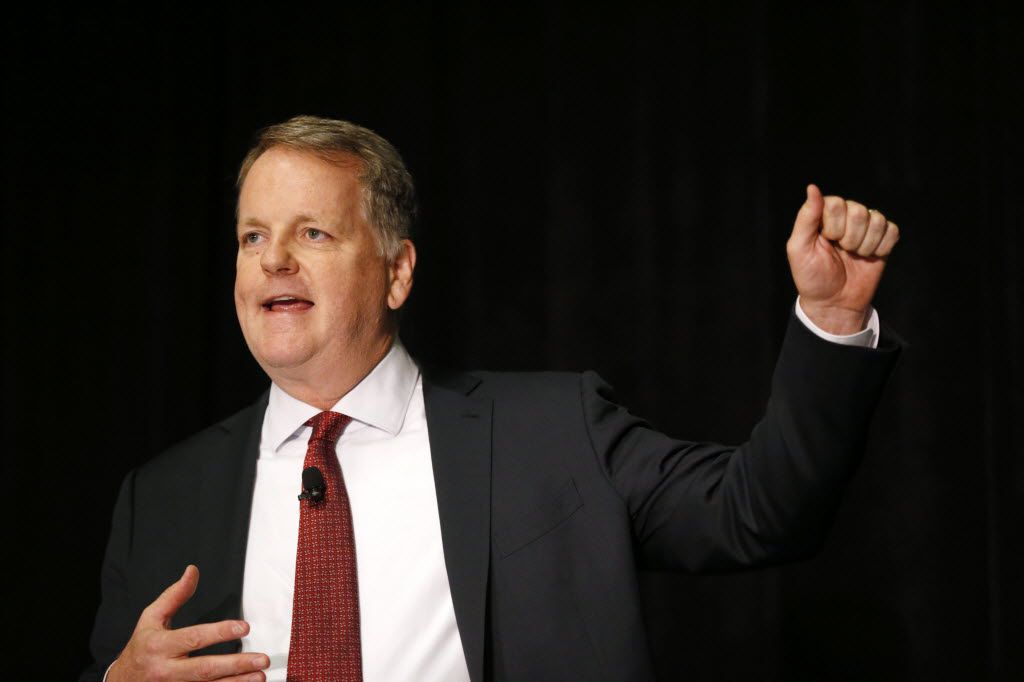 """American Airlines CEO Doug Parker said Wednesday that the divisiveness of today's political environment is the """"antithesis of what we do and what our team does for a living."""""""