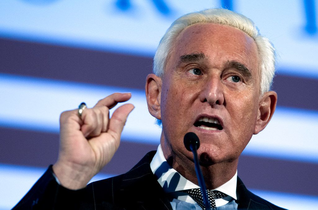 Roger Stone, an associate of President Donald Trump, has been arrested in Florida. That's according to special counsel Robert Mueller's office, which says he faces charges including witness tampering, obstruction and false statements.