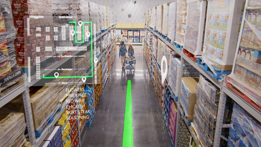 The operating warehouse club will serve as an incubator for new shopping technology developed by Sam's innovation lab in downtown Dallas. The store has 700 cameras that will work with Sam's Club Scan 'n Go app.