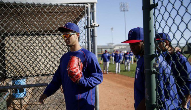Yu Darvish se perderá la campaña 2015 de los Rangers. (DMN/Andy Jacobsohn)