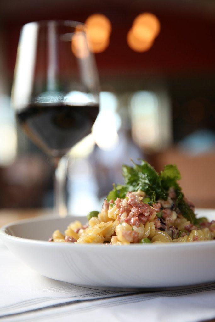 Fusilli e Agnello at Piattello Italian Kitchen in Fort Worth, Texas on Wednesday, May 17, 2017. (Rose Baca/The Dallas Morning News)