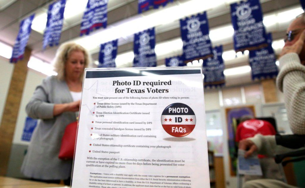 'Surprising' poll: Texans strongly back voter ID law, increased ballot access