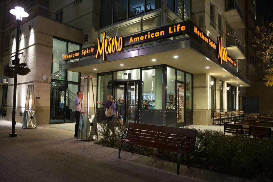 Mesero is a Mexican restaurant that originated in Dallas.