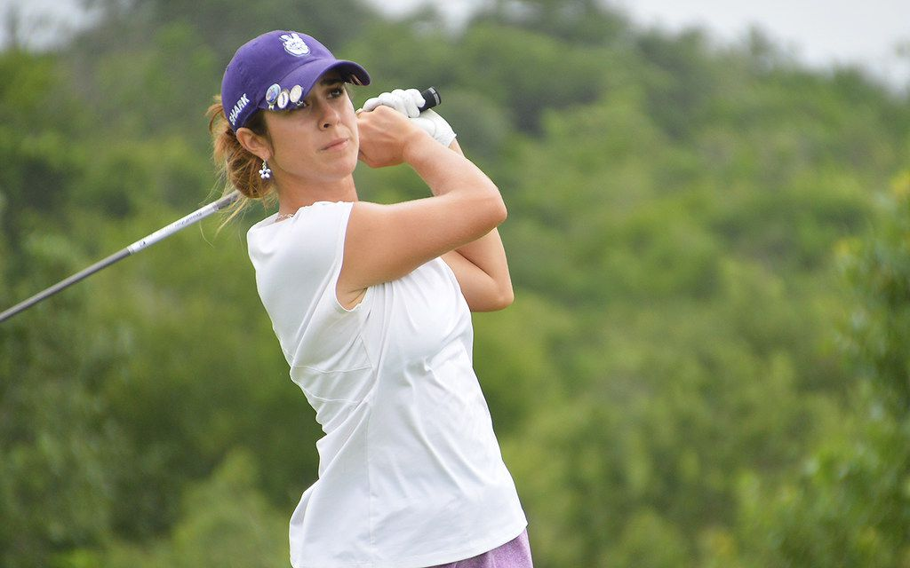 Annika Clark, a 2019 Texas Christian University graduate, won the Women's Stroke Play Championship at Briggs Ranch Golf Club in San Antonio on Sunday, JJune 23. She carded a 1-under-par 71 in the final round to post a 9-under total for the tournament and win by three strokes.