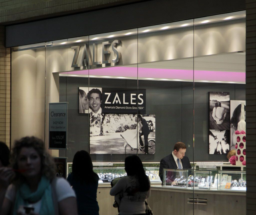 Zales Jewelers at  NorthPark Center in Dallas.