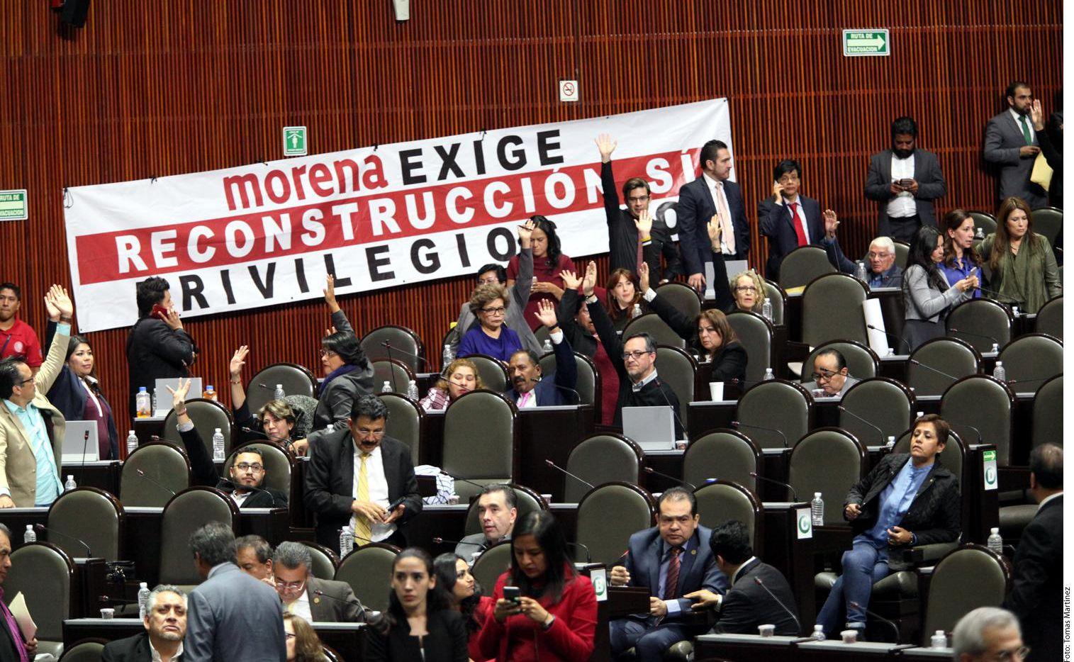 La Cámara de Diputados debatió la aprobación del presupuesto federal para 2018.(AGENCIA REFORMA)