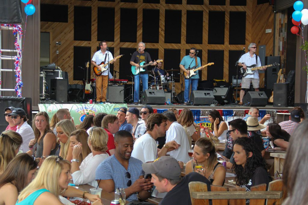 Petty Theft a Tom Petty coverband provided entertainment at the Boil for the Brave crawfish boil benefitting Veterans Rehabilitation program was held at The Rustic in Uptown on April 18, 2015