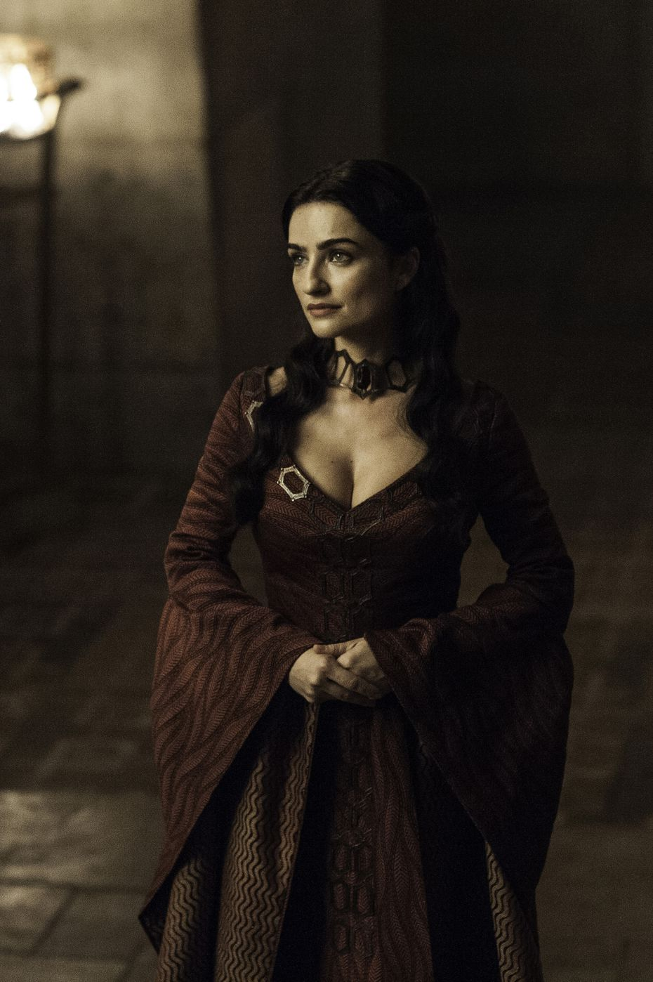 Kinvara gave off some serious Melisandre-of-old vibes, with her confidence and mannerisms.