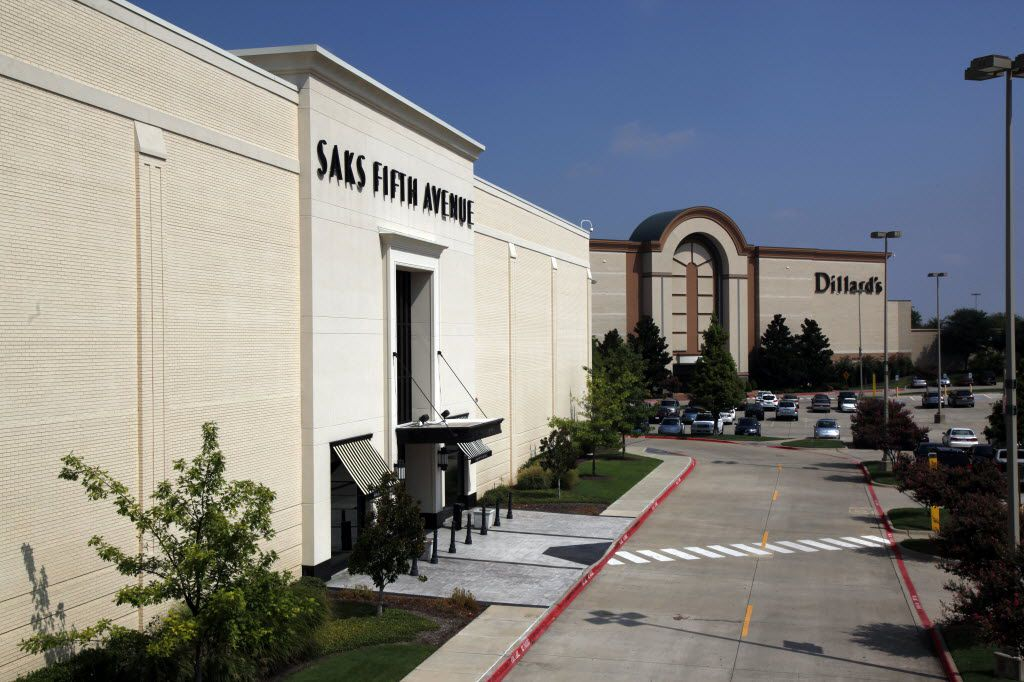 Saks Inc. said in 2010 that it would close its Saks Fifth Avenue store in the Shops at Willow Bend in Plano.