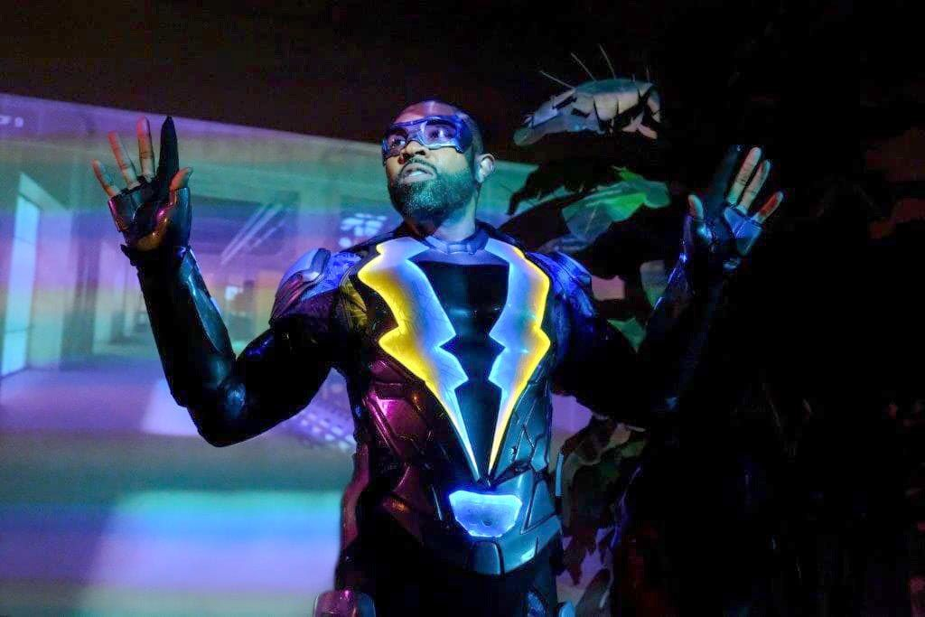 """Black Lightning"" stars Cress Williams in the titular role."