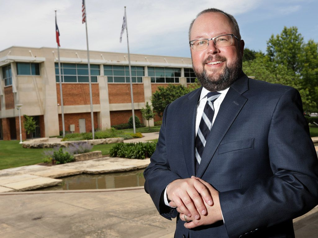 """I'm all about continuity, and I think Allen's on the right path,"" new Allen City Manager Eric Ellwanger said. ""At the same time, change is inevitable."""