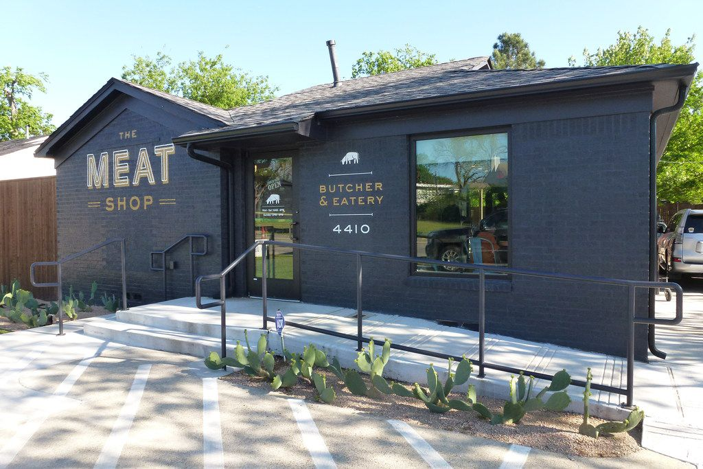 The Meat Shop is on Lovers Lane near Love Field.