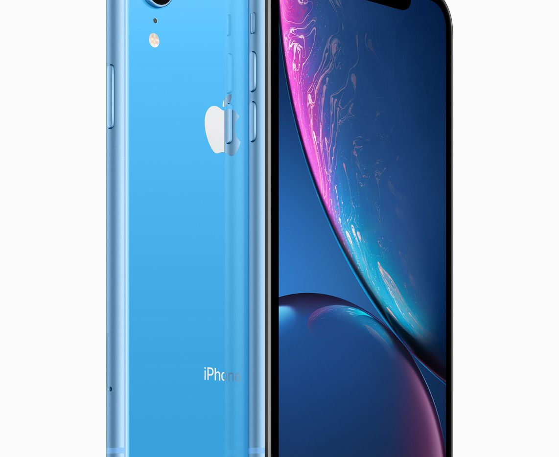 Apple's iPhone XR is available in a variety of colors and it's $250 cheaper than the iPhone XS.