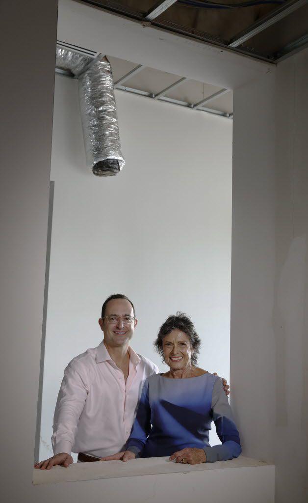 Seth Davidow, and his mother, Joan Davidow at Site131