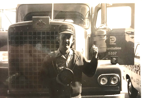 """Nim Cash in an undated photo: """"I am a truck driver,"""" he said Wednesday. """"That's what I put my life on, driving trucks and heavy equipment and training folks who want to do it."""""""