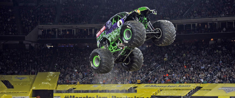Monster Jam es este sábado 23 de febrero en Arlington.