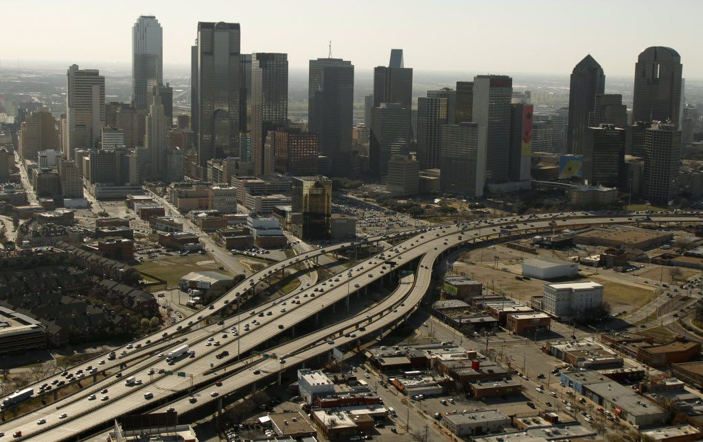 Proposals for Interstate 345, which connects Central Expressway and Interstate 45, include removing some ramps, lowering the highway or removing it altogether.
