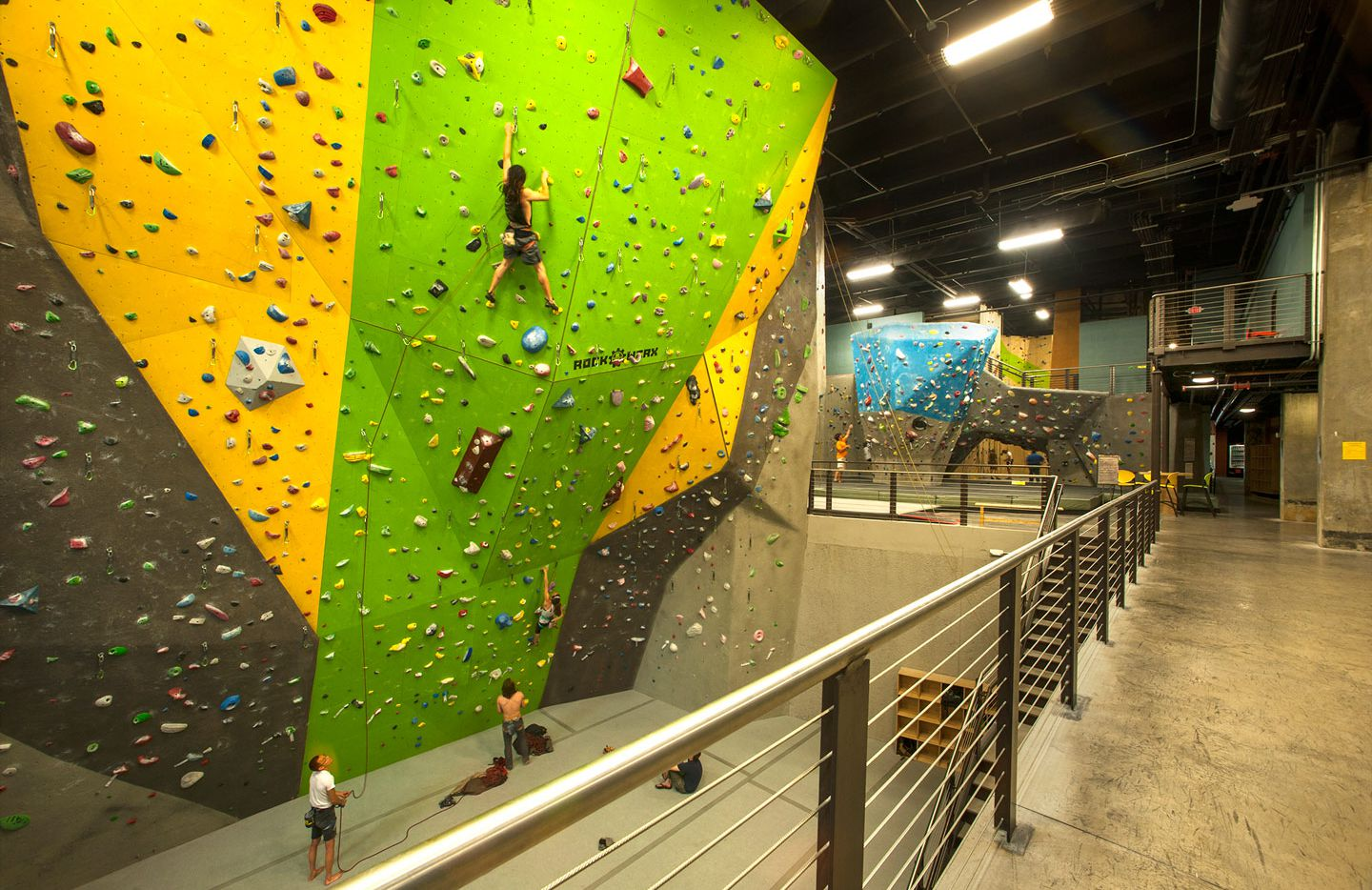 High Point Climbing and Fitness, a mega indoor-outdoor gym in downtown Chattanooga, offers a variety of fun ways to work your core.