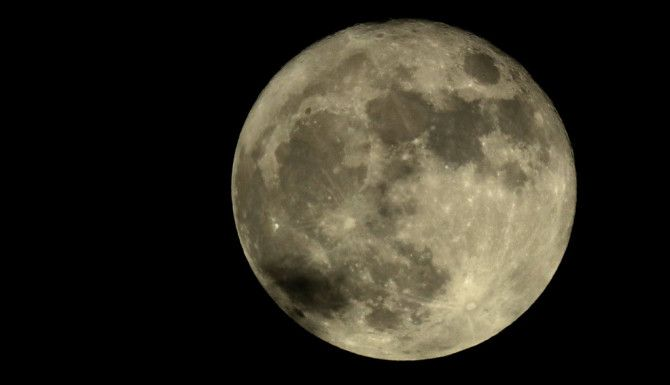 La Súper Luna desde Kansas/AP