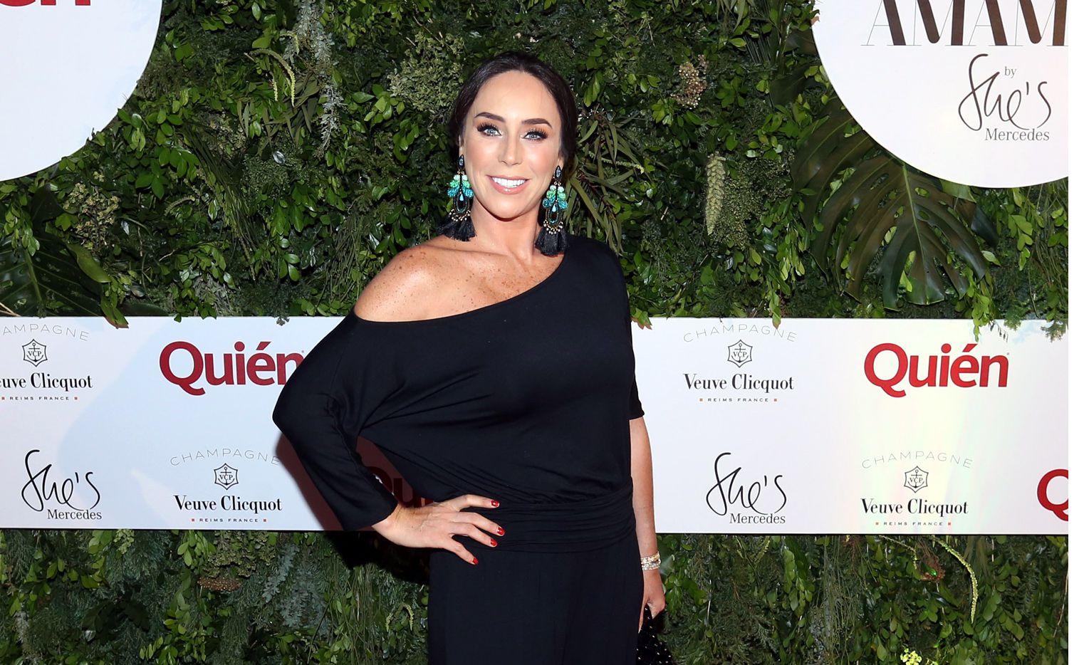 La actriz se comunicó con la periodista Ana María Alvarado para aclarar el incidente ocurrido en el bautizo de su séptima hija./ AGENCIA REFORMA