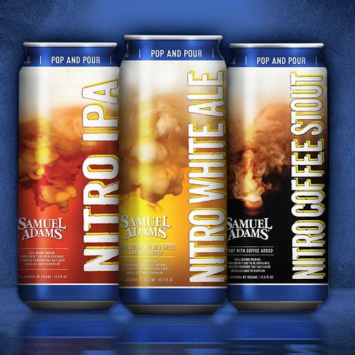 Boston Beer Co., Samuel Adams parents company, launched the Nitro Project nationwide in January 2016.