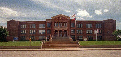 Sunset High School in 1997.