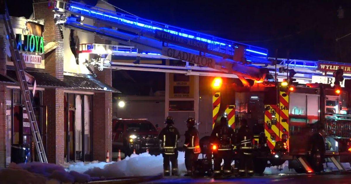 El restaurante La Joya Mexican Cocina sufrió daños en el incendio. DMN