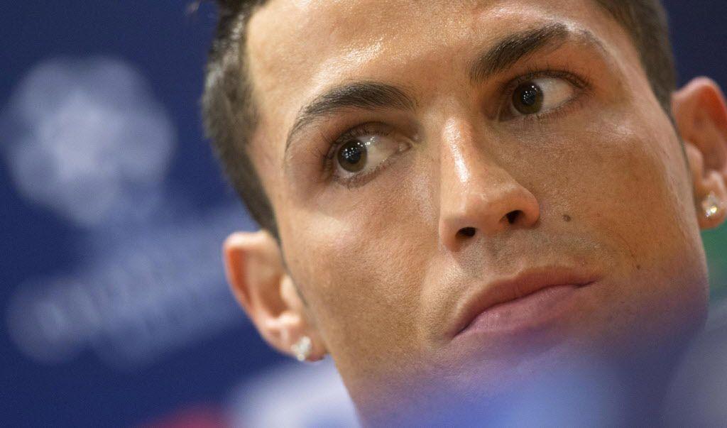 Cristiano Ronaldo, delantero del Real Madrid. / Foto AP