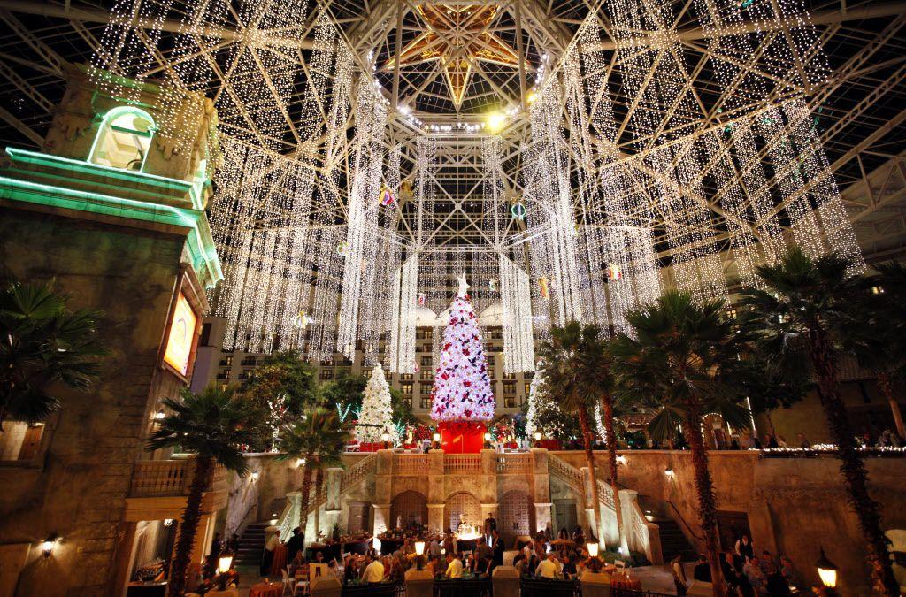 El Hotel Gaylord se transforma en un paraiso navideño en el mes de diciembre/ KYE R. LEE DMN