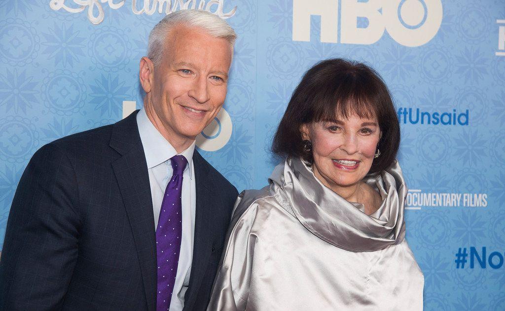 Gloria Vanderbilt, fashion pioneer, socialite and mother of Anderson Cooper, dies at 95