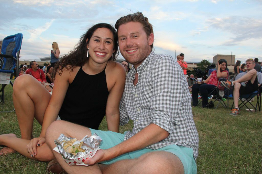 Reunion Lawn Party kicked off its free summer series of monthly summer of concerts, food trucks and lawn games with a beer garden on June 25, 2016