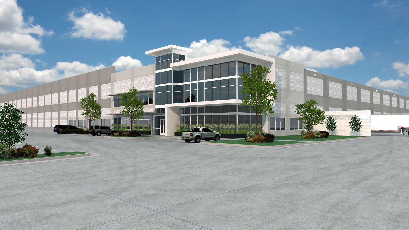 Perot Development will start the first of the DFW Airport buildings in March.