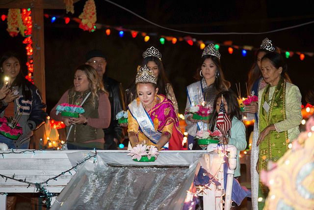 Wat Lao Rockwall celebrated the Lantern of Lights Festival to mark the end of Buddhist Lent on Saturday.