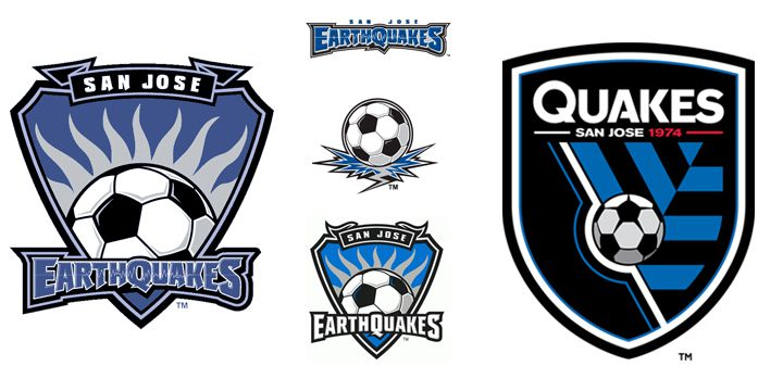 San Jose EarthQuakes logos