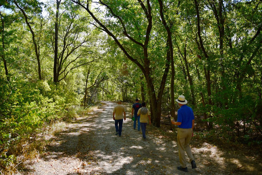 Unlike some of the paths in the Great Trinity Forest, everything along the Elm Fork is natural, thanks to trail-builder and Groundworks Dallas executive director Richard Buckley and his staff of volunteers.